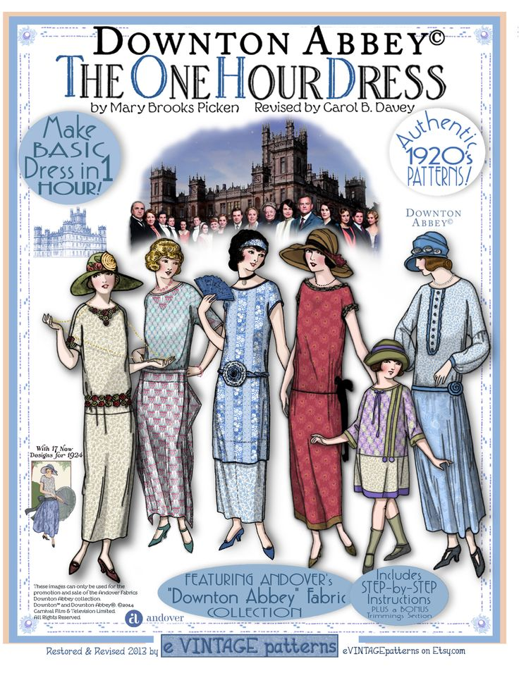 Downton Abbey One Hour Dress - eVintage