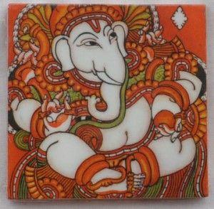 kerala mural painting ganesha - Google Search