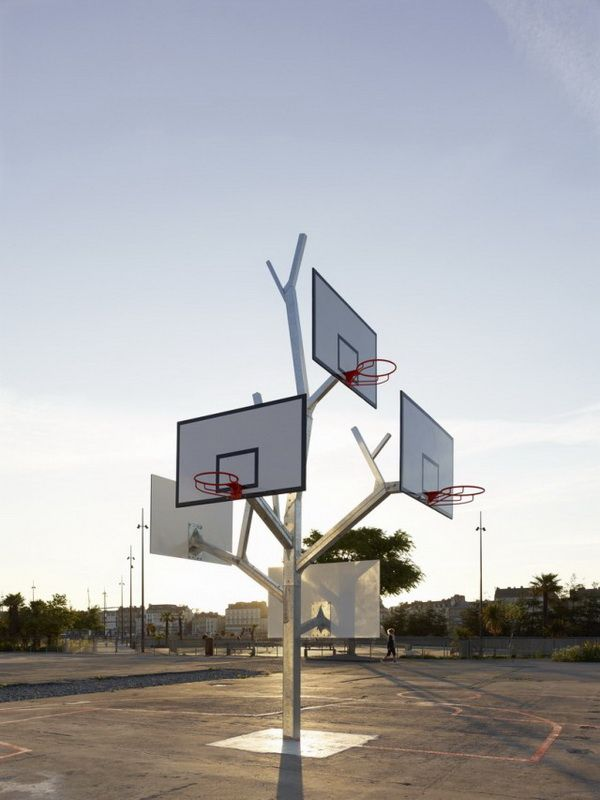 basketball tree: Playground, Basketb Hope, Alta Architects, A Lta Architects, Street Art, Sports, Baskets Trees, Basketb Trees, Urban Architecture