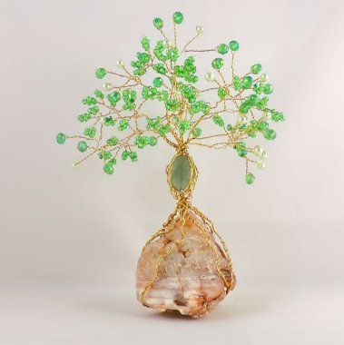 Adventurine Gemstone Tree - available from our website.