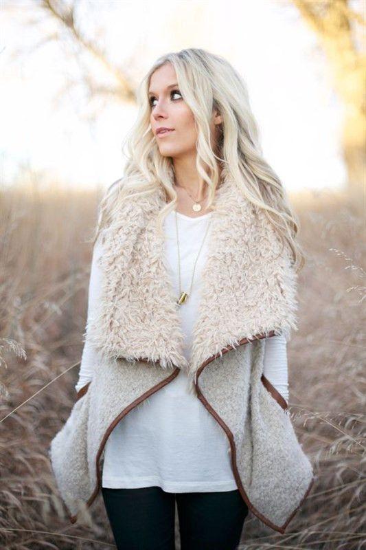 Shearling Vest – Jess Lea Boutique