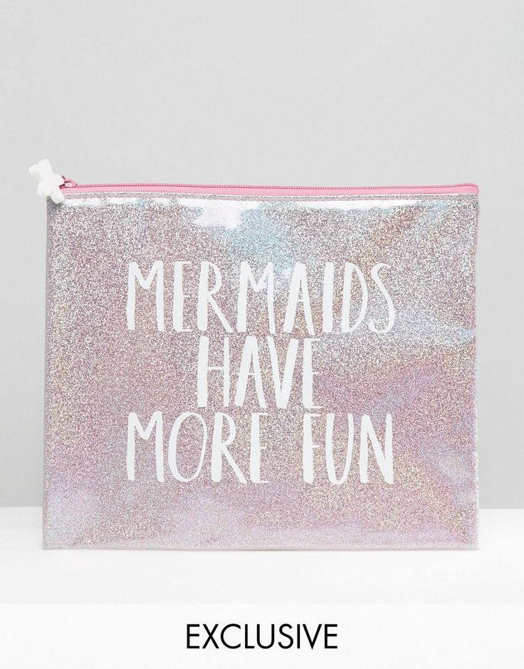 Image 1 of Paperchase Mermaid Pouch
