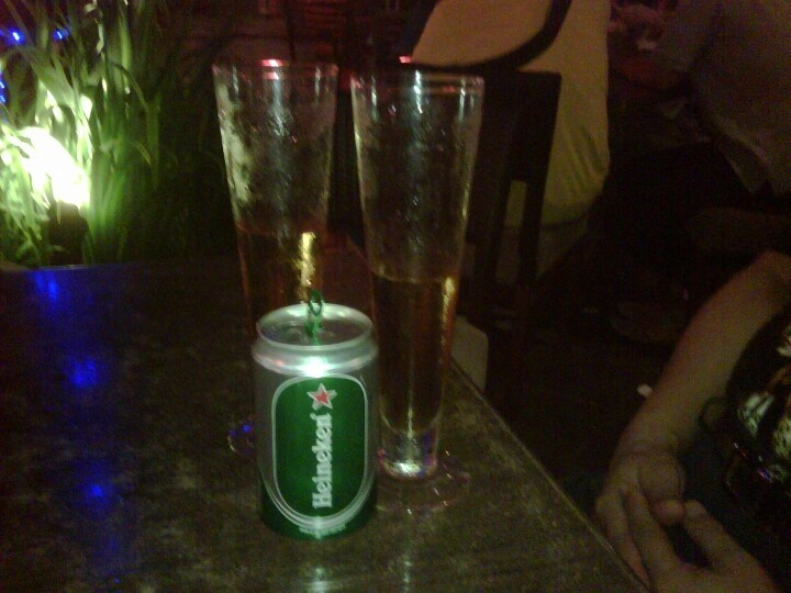 Spend my time with heineken..