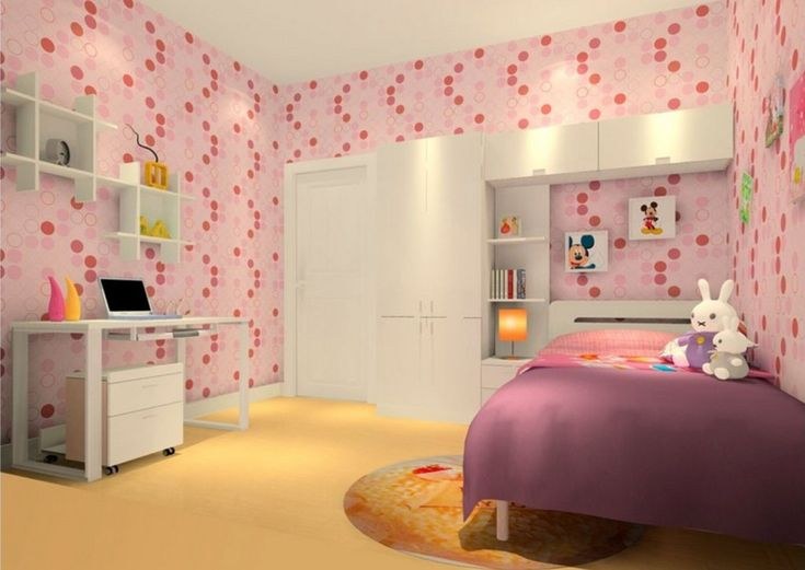 A Picture From The Gallery Girls Bedroom Wallpaper For An Interesting Home Decoration Theme