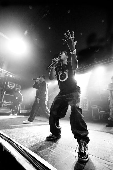 Chuck D and Flavor Flav of Public Enemy performing on the Don't Look Back tour UEA Norwich United Kingdom 22 May 2008