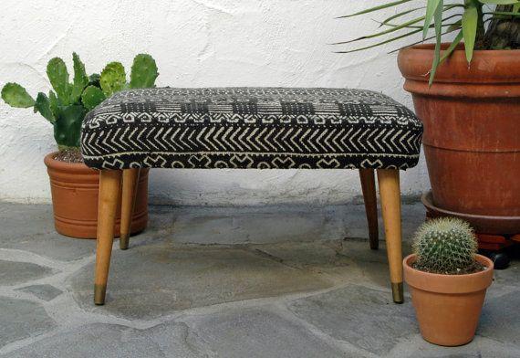 Mid Century Modern Footstool Modern Footstool Mid Century Stools Midcentury Modern
