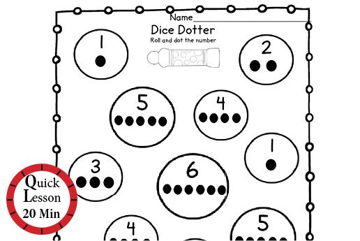 Number Hunt | Students practice one-to-one correspondence in this fun…