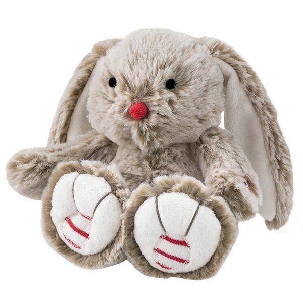 Rouge pequeño conejo beige 19cm