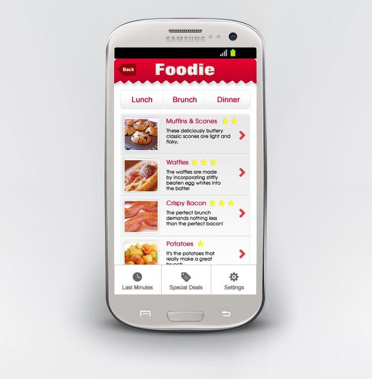 Mobile design for a resutrant