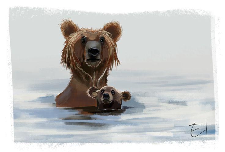 Bear sketch 3