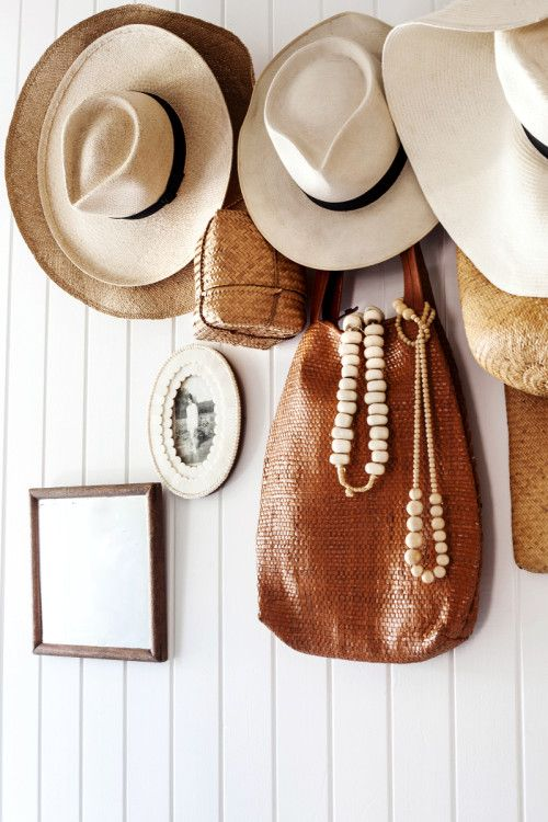 1000 ideas about hanging hats on pinterest hat racks for Hat hanging ideas
