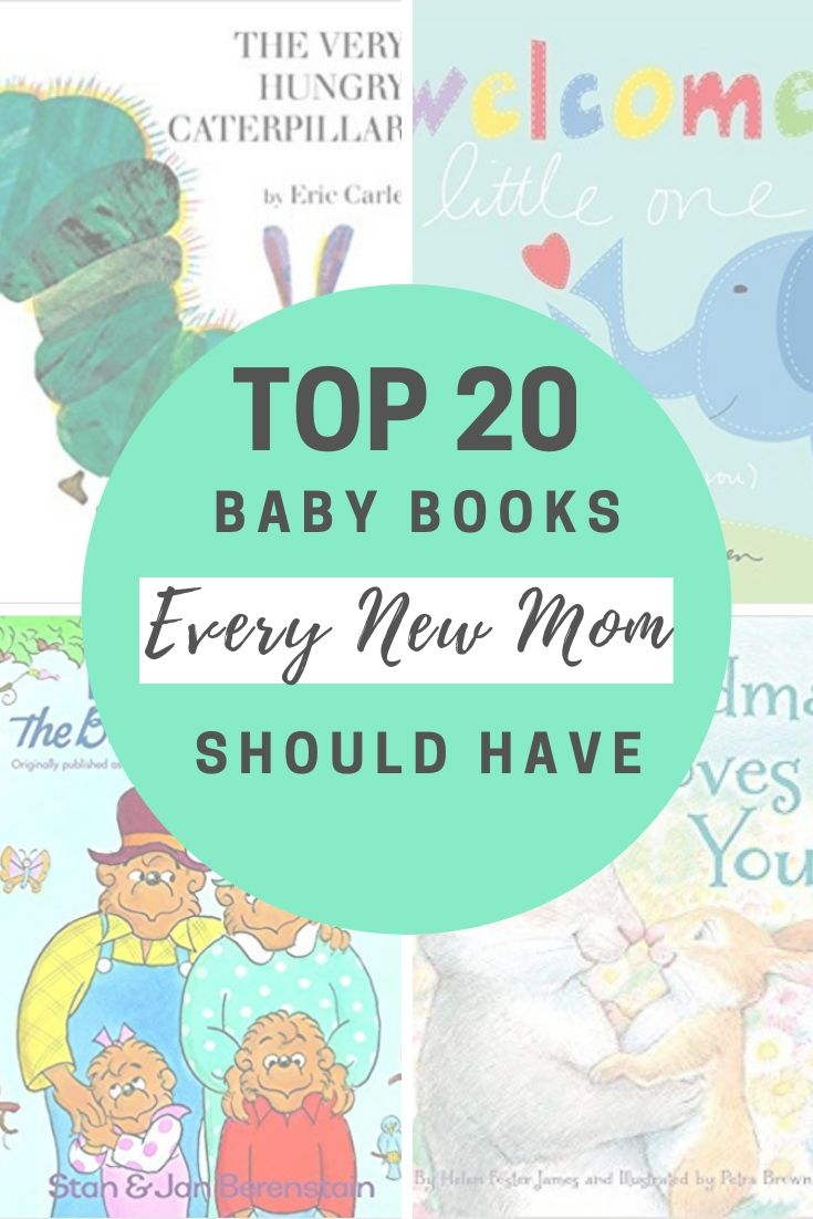 We Have The Top 20 Popular Baby Books Every New Mom Should Have