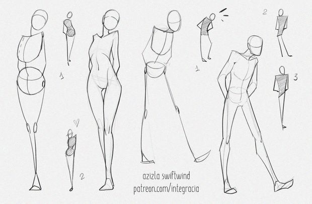 Azizla Swiftwind Is Creating Comic Arts And Resources Patreon In 2020 Body Reference Drawing Drawing Reference Poses Drawing Body Poses