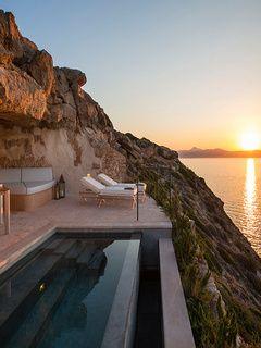 Un hôtel troglodyte à Majorque