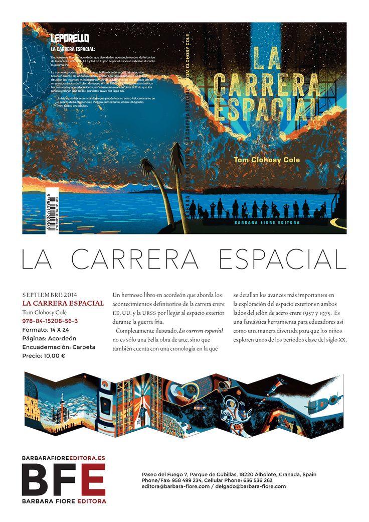 LA CARRERA ESPACIAL ISBN: 978-84-15208-56-3  /  Autor: Tom Clohosy Cole