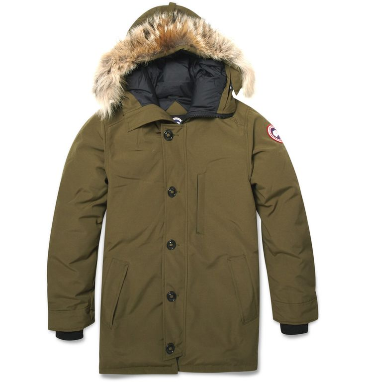 Chateau Coyote-Trim Parka Jacket|Canada Goose