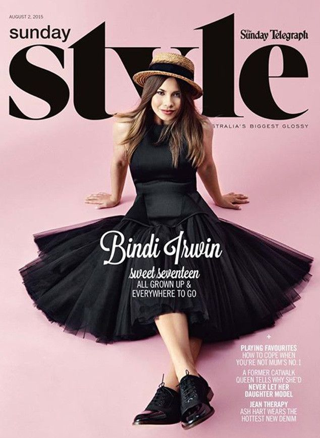 Bindi Irwin hits the Sunday papers