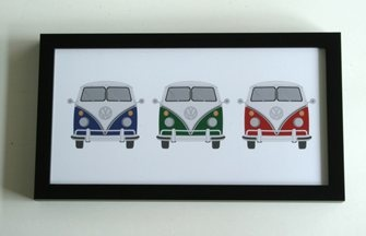 VW Kombi wall art and decor for kids rooms | Lottie Coco