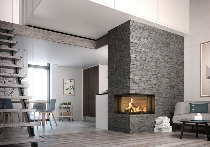 Make a #cozy #home with the #Visio #fireplace from #RAIS. #interior #beauty#decoration