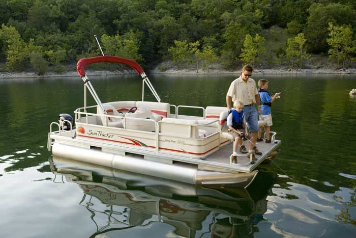 pontoon+boats | SunTracker Boats Even with the best care for your pontoon boat ...