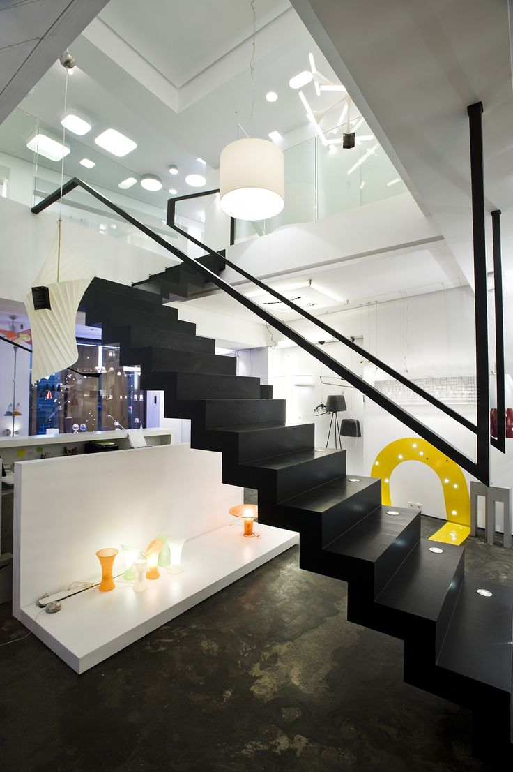 HALO Architectural Lighting Showroom | eDje architects | athens Greece | staircase & 15 best HALO architectural lighting showroom | athens greece ... azcodes.com