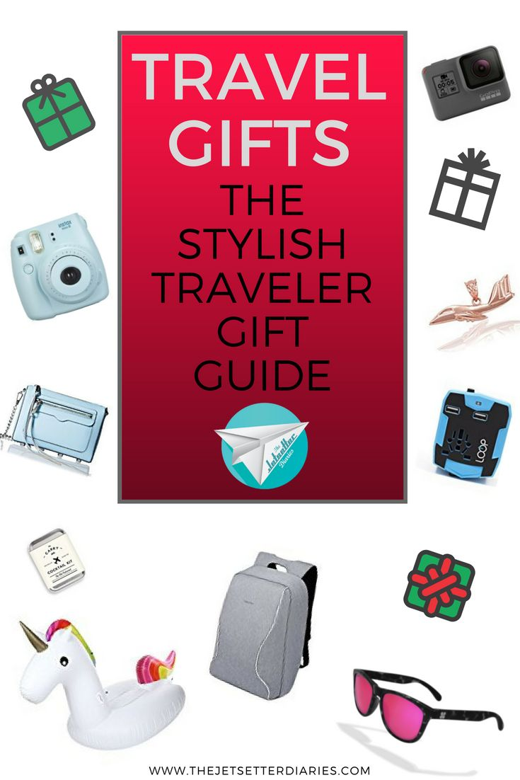 Holiday season is approaching and sometimes we need some inspiration to find the perfect travel gifts for our friends and family. Coming up with creative ideas for the globe-trotters and jetsetters is not always easy. Here are some cool and unique travel gift ideas for the stylish traveler: