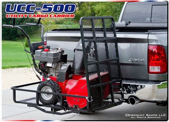 Steel Basket Utility Cargo Carrier - 500 lb Capacity | For ...