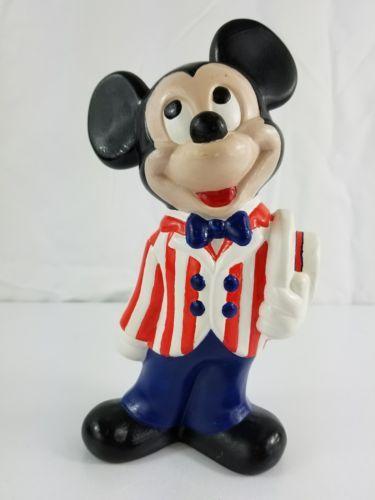 05ba42a72ae Vintage-Ceramic-Walt-Disney-Mickey-Mouse-Barber-Shop-Quartet-Figure-9-Inches
