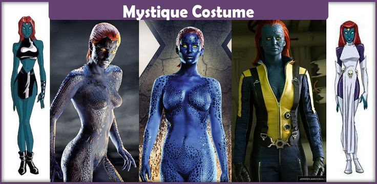 The best guide on making a Mystique costume from Marvel's X-Men. Here you will find a list of everything you will need to make an accurate costume.