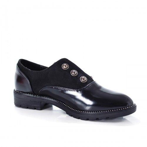 Pantofi dama Rodilo negri casual