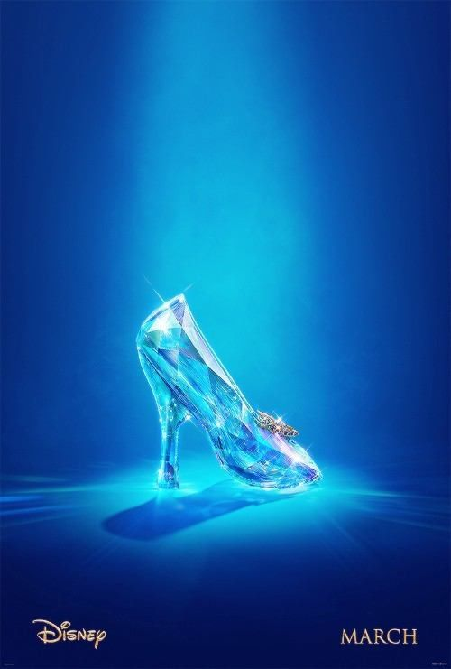 glass slipper under the spot light