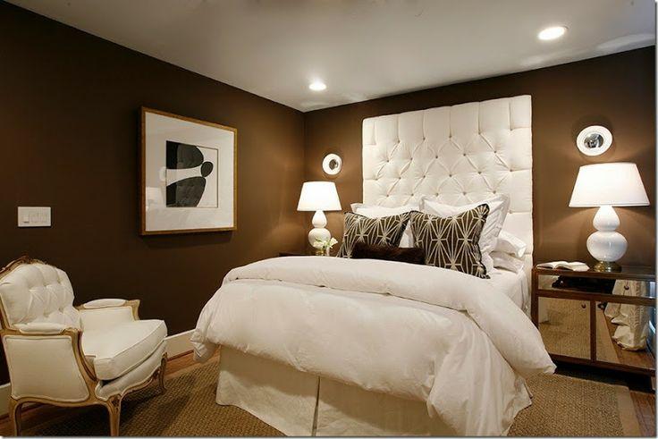 bedrooms on pinterest master bedrooms dark brown walls and birds