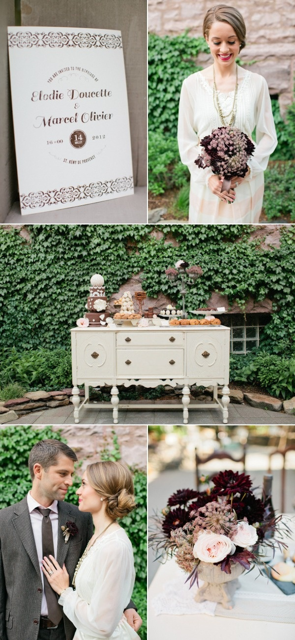outdoor wedding venues minneapolis%0A French Inspired Photo Shoot from A Day in Provence