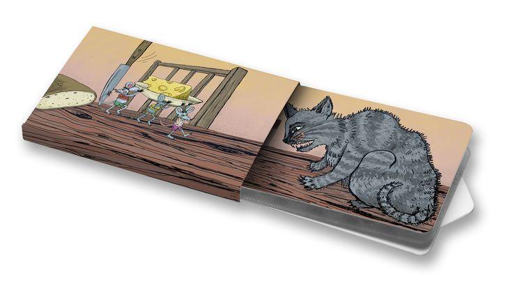 Myši mají pré - Tereza Jirků #charitygums #zvejky #zvykacky #vegan #aspartamfree #sugarfree #spring #animals #mice #cat