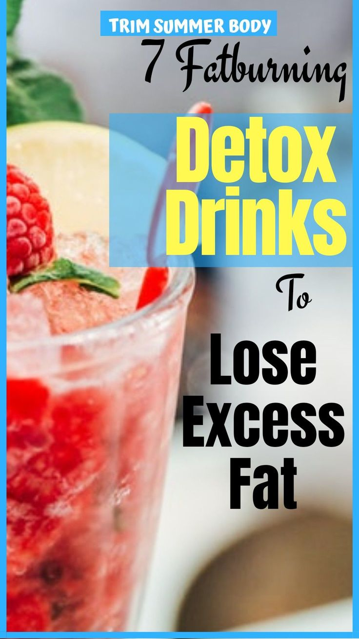 Body cleanse drinks- 7 best detox water recipes for weight loss