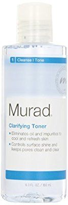 An oil-fighting toner that refreshes and cleanses acne-prone skin. It will clear and prevent unwanted skin breakouts.  DETAILS Effectiveness: The Murad Clarifying Toner works wonders on acne-prone skin. The Witch Hazel keeps oil under control while tightening your pores. We're not kidding, you will notice a visible decrease in the size of them. Additionally, this toner works to cleanse your skin, thoroughly removing off all of the left behind dirt and grime that you might have missed while…