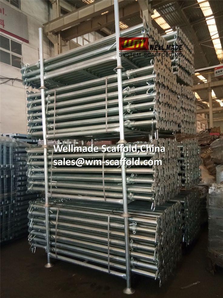 Formwork Scaffolding Materials: Slab Formwork Scaffold Pole-Adjustable Scaffolding...
