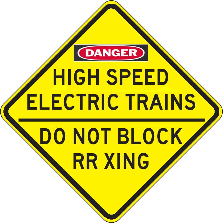 80 Best Railroad Signs Images On Pinterest  Railroad