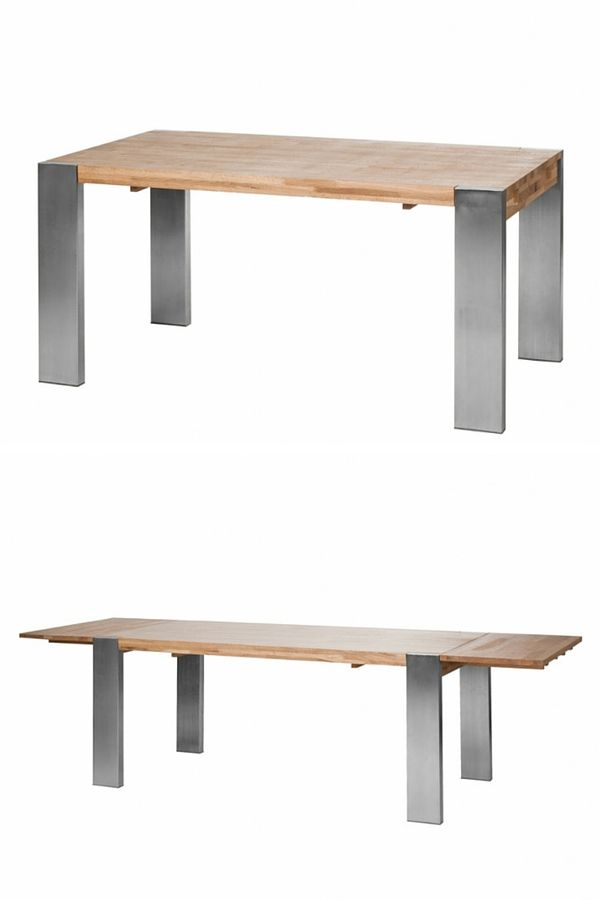 1000 id es sur le th me table rallonge sur pinterest for Table extensible industrielle