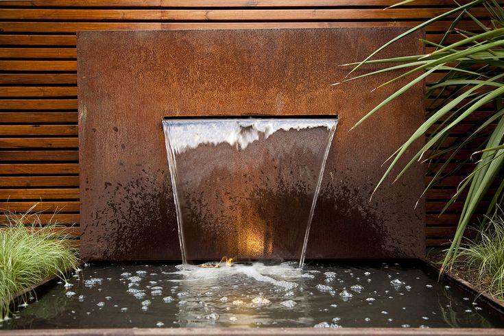 corten agua fuente - Google Search