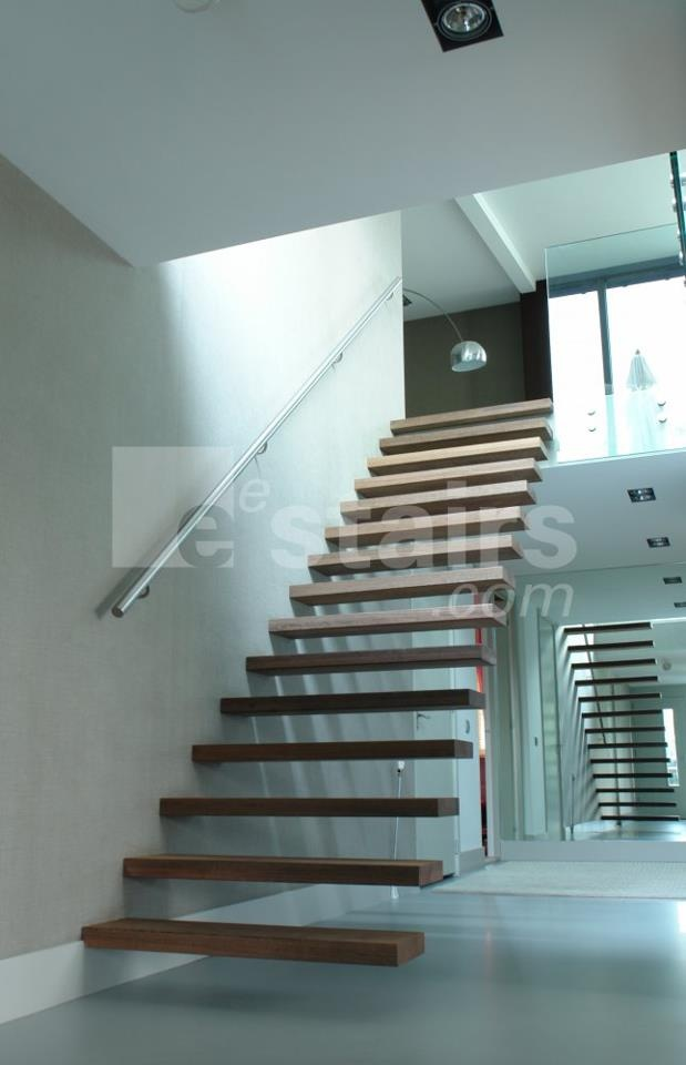 Wonderful Straight Stairs Wood By Eestairs Design Ideas