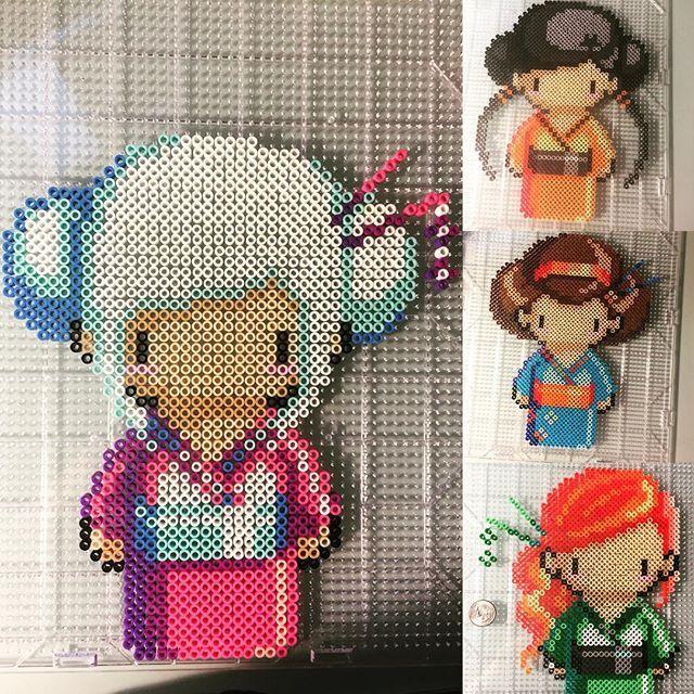 Gheisas perler beads by perlermom