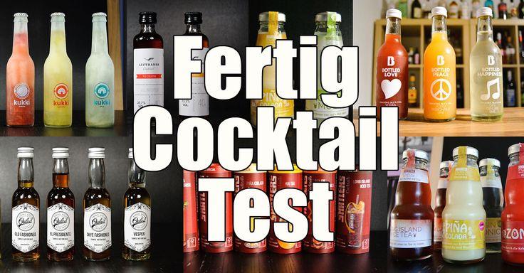 Der große Cocktailbart-Fertigcocktail-Test.