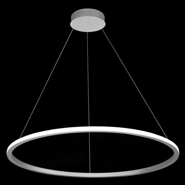 Lampa Wiszaca Echo 67884 Wh Ramko Futurystyczna Oprawa Zwis Led 35w Pierscien Ring Bialy Ceiling Lights Lamp Light