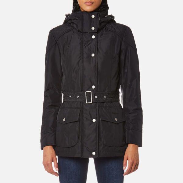 Barbour International Women's Outlaw Jacket Black