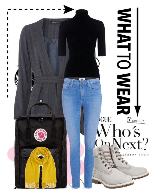 """""""casual#1"""" by tanttu-haapop on Polyvore featuring Dorothy Perkins, Theory, Paige Denim, Timberland, Fjällräven and Miss Selfridge"""