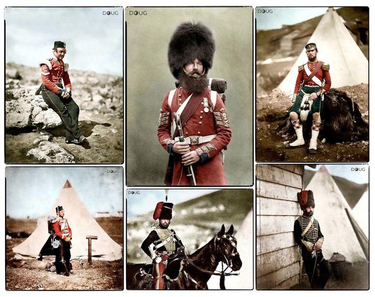17 Best Images About Crimean War Colorized Pics On