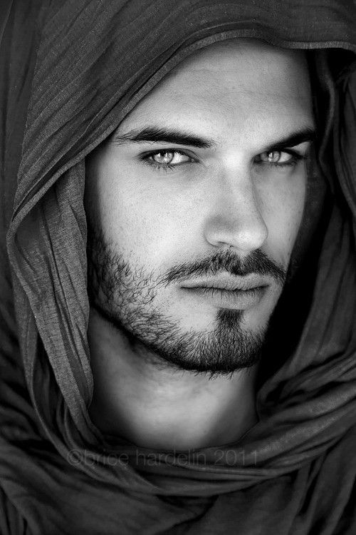 Winner of April's search for Kishan is.... mystery man. Don't know the name of this model but, his face screams Kishan to me, how about you? And check out those eyes!! Just imagine fierce gold!