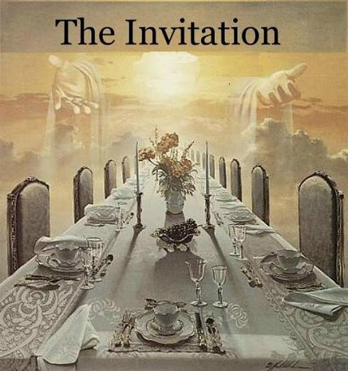 Rev:19-9  The Wedding Feast ~  MANY ARE CALLED BUT FEW ARE CHOSEN: Everyone is invited, but few go. Revelations 19:7-8
