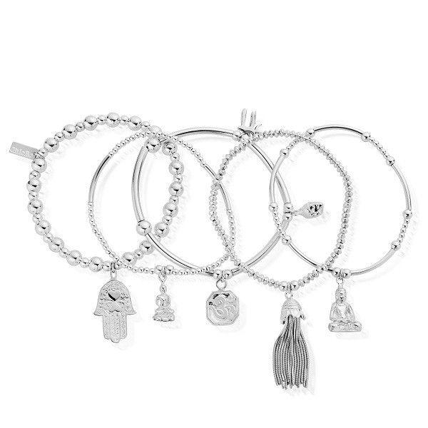 ChloBo - Set of 5 Karma Bracelets £355